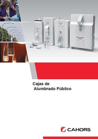 CAHORS - Catálogo Cajas Alumbrado público
