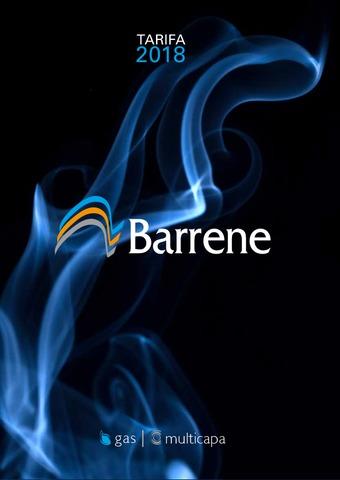 BARRENE - Catálogo 2018