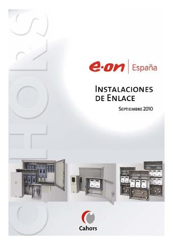 CAHORS - EON Instalaciones de enlace