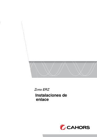 CAHORS - ERZ Instalaciones de enlace