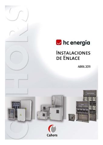 CAHORS - HC ENERGÍA Instalaciones de enlace