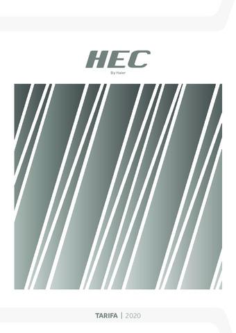 Tarifa HEC 2020