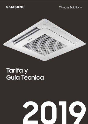 SAMSUNG - Tarifa y Guía Técnica 2019