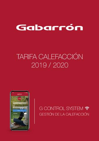 GABARÓN - Tarifa Calefacción 2019-020