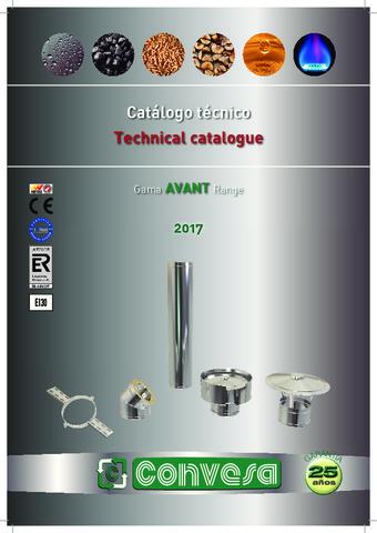 CONVESA - Catálogo Avant Técnico 2017