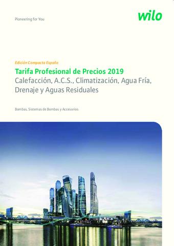 WILO - Tarifa 2019