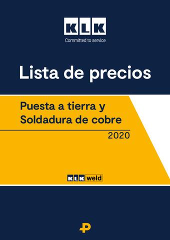 KLK - Tarifa 2020