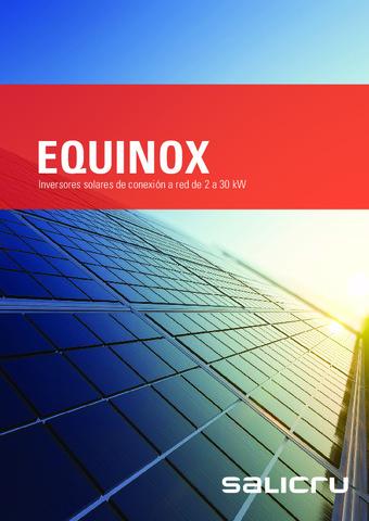 SALICRU - Catálogo Inversor EQUINOX Julio 2020
