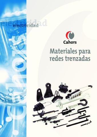 CAHORS - Catálogo Materiales Redes Aéreas