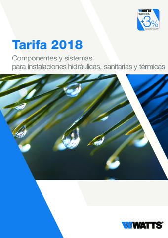 WATTS - Tarifa 2018