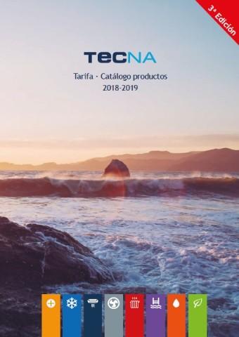TECNA TARIFA - CATÁLOGO 2018-2019 (3ª Edición)
