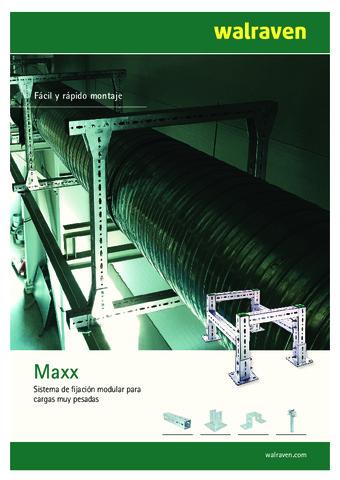 WALRAVEN - Sistemas de fijación modular para cargas muy pesadas