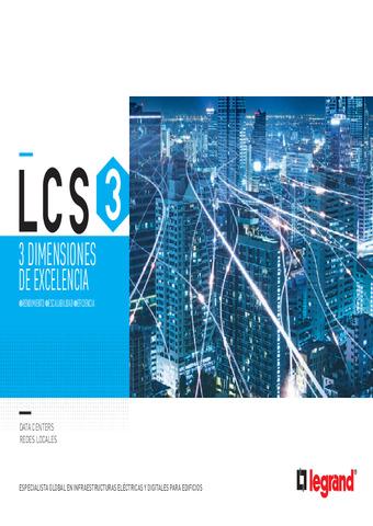 LEGRAND - Catálogo LCS3