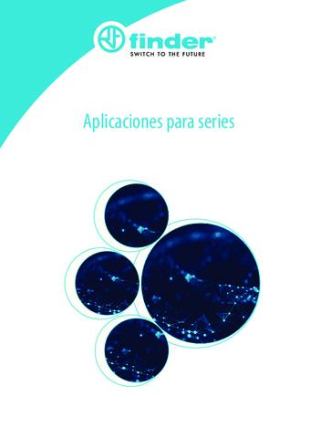 FINDER - Catálogo Aplicaciones para Series