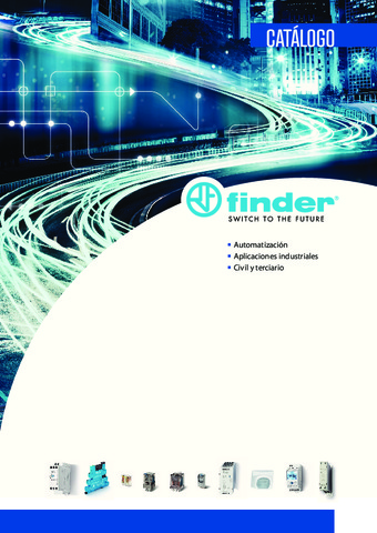 FINDER - Catálogo General 2018