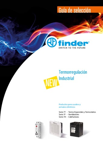 FINDER - Catálogo Termorregulación Industrial 2019