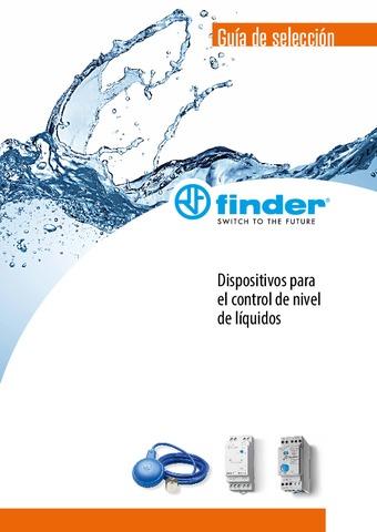FINDER - Dispositivos para el control de nivel de líquidos