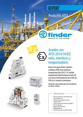 FINDER - Productos ATEX