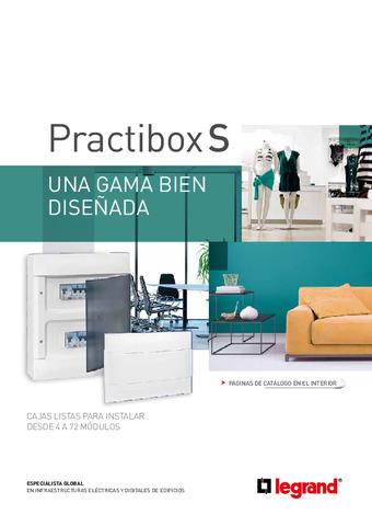 LEGRAND - Catálogo cajas de distribución Practibox