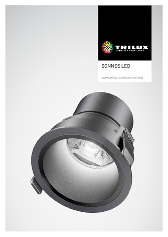 TRILUX - Luminaria Sonnos Led