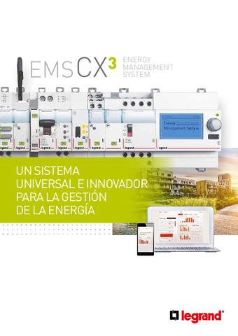 LEGRAND - Catálogo supervisión energética EMS CX3