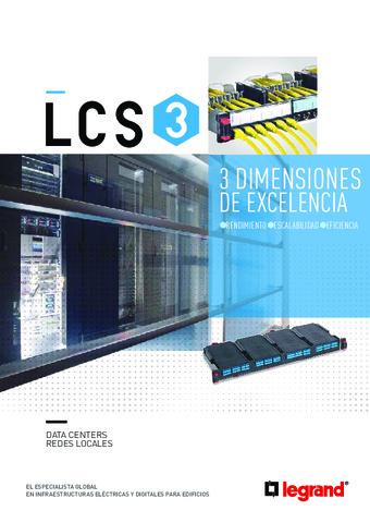 LEGRAND - Catálogo Especialista LCS3