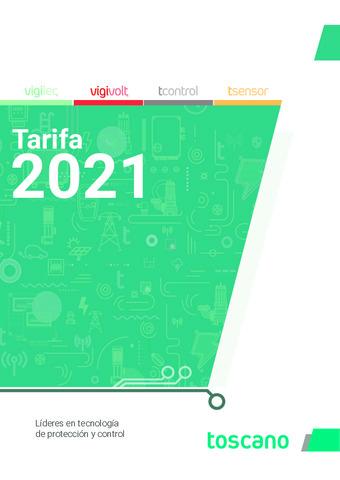 Tarifa 2021