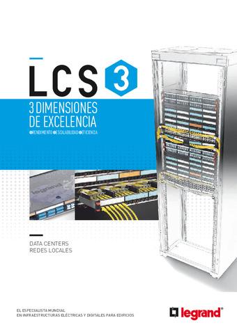 LEGRAND - Catálogo Generalista LCS3