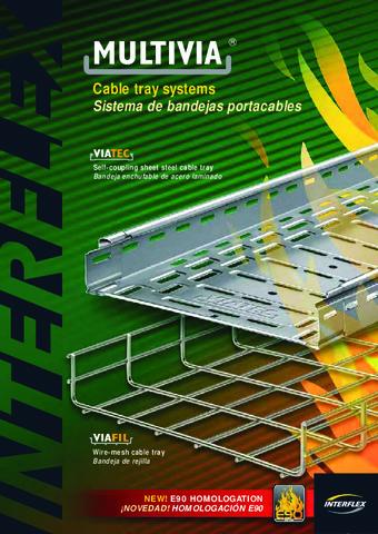 INTERFLEX - Sistemas de conducción de cables Viafil y Viatec