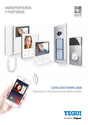 Catalogo Tarifa videoporteros Tegui