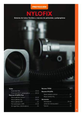 INTERFLEX - Sistemas Nylofix de protección de poliamida y polipropileno