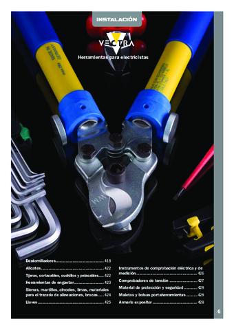 INTERFLEX - Herramientas para electricistas