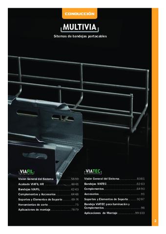 INTERFLEX - Sistemas de bandejas portacables