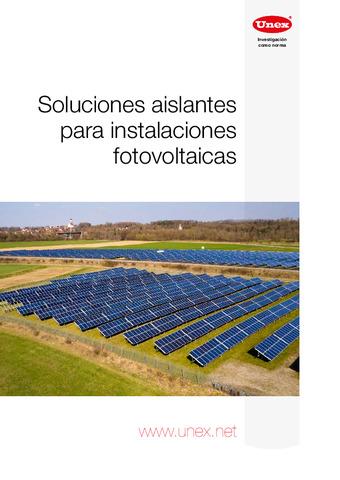 UNEX - Soluciones aislantes para instalaciones fotovoltaicas