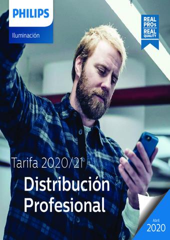 PHILIPS - Tarifa Alumbrado Profesional 2020-2021