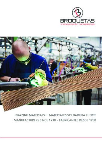 BROQUETAS - Catálogo Soldadura Fuerte