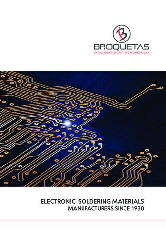 BROQUETAS - Catálogo Soldadura electrónica