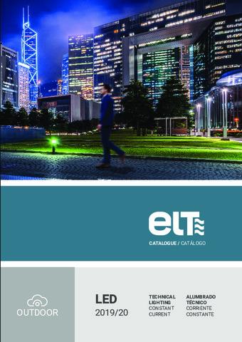ELT - Catálogo Alumbrado Técnico LED 2019/20