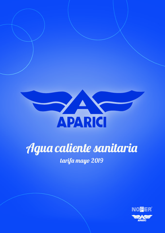 APARICI -  Tarifa ACS Mayo 2019