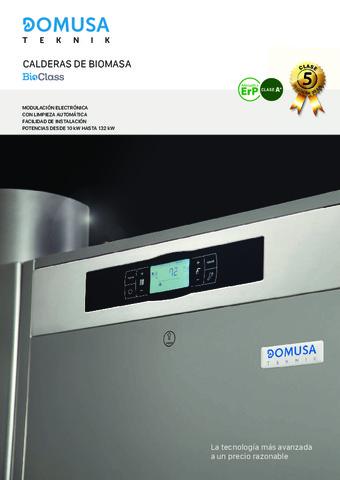 DOMUSA TEKNIK - Catálogo Bioclass