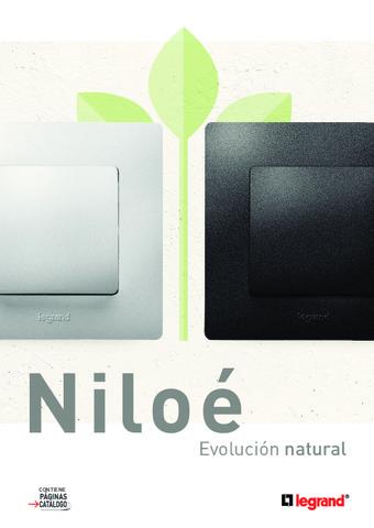 LEGRAND - Catálogo Mecanismos Niloe