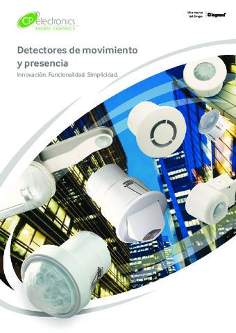 LEGRAND - Catálogo Técnico Detectores de Movimiento