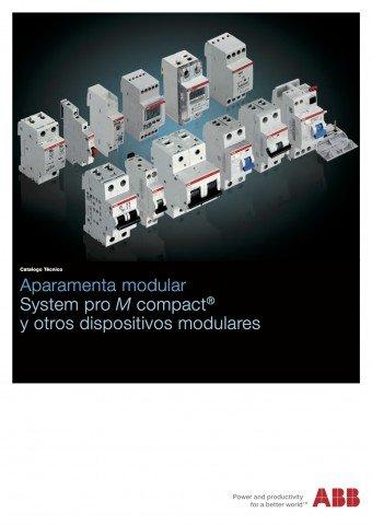 ABB - Catálogo Aparamenta modular system pro m compact y otros dispositivos modulares