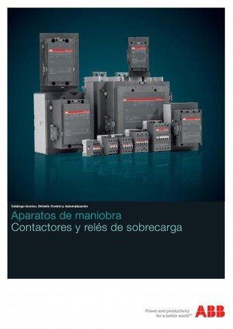 ABB  - Catálogo Aparatos de maniobra contactores y reles de sobrecarga
