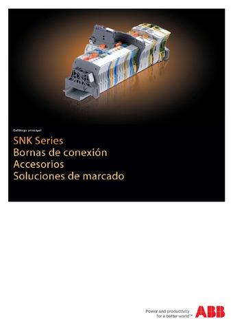 ABB  - Catálogo Bornas entrelec series snk accesorios soluciones de marcado