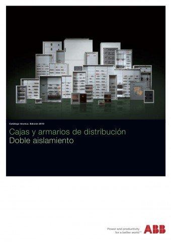 ABB  - Catálogo Cajas y armarios de distribución