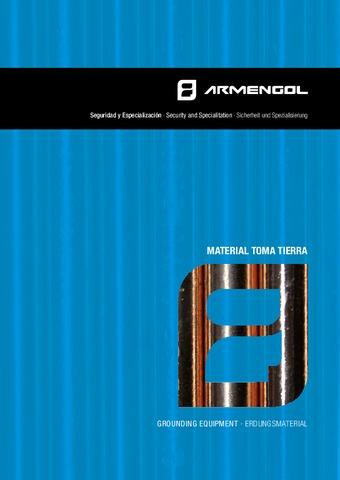 ARMENGOL  - Catálogo Material toma tierra