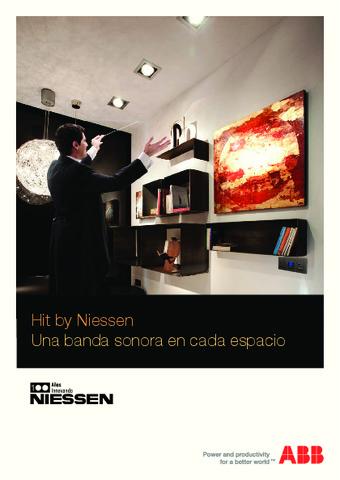ABB - Catálogo Hit by Niessen sistema de sonido