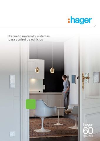 HAGER - Catálogo Pequeño material y sistemas para control de edificios