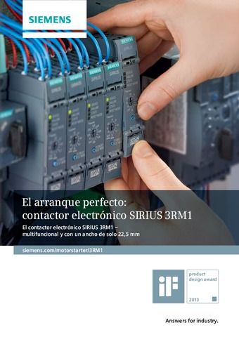 SIEMENS - Contactor SIRIUS 3RM1